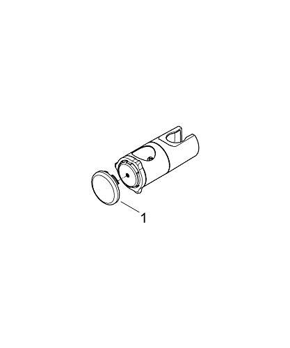Grohe Relexa Plus - Soporte metálico para barras de ducha (Ref. 12435000)