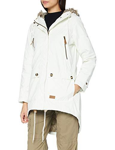 Trespass Clea damski wyściełany wodoodporny płaszcz z kapturem Duch XL