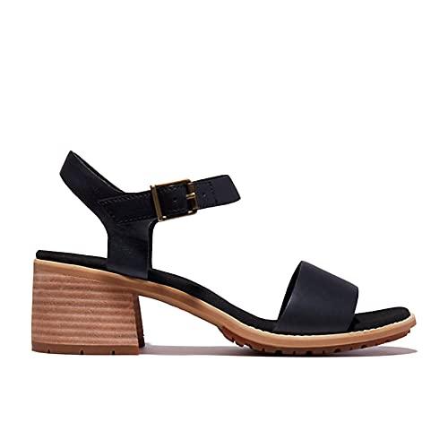 Timberland Laguna Shore Mid sandalen voor dames, zwart