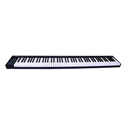 Review Of LVSSY-88 Key Full Size Digital Piano Portable Multifunction Electronic Piano Adult Profess...