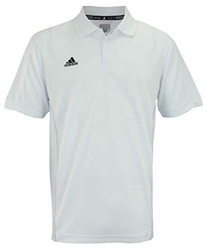 adidas Men's WHT Mens Team Polo Size M