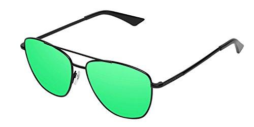 HAWKERS · LAX · Black ·  Emerald · Gafas de sol para hombre y mujer