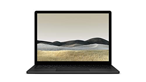"Microsoft Surface Laptop 3 - Ordenador portátil de 13.5"" táctil (Intel Core i5-1035G7, 8GB RAM, 256GB SSD, Intel Graphics, Windows 10) Negro - Teclado QWERTY Español"