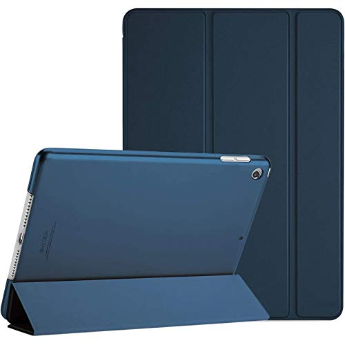 ProCase iPad 10.2 Case 2020 iPad 8th Generation Case / 2019 iPad 7th Generation Case, Slim Stand Hard Back Shell Protective Smart Cover for 10.2' iPad 8 / iPad 7 -Navy