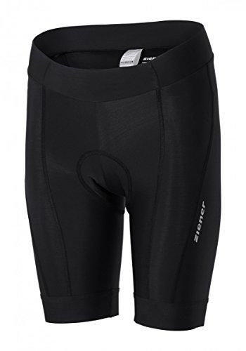 Ziener Damen Biketights CALOTTA X-Function, Black, 42