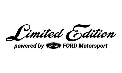 WRAP-SKIN Limited Edition passend für Ford Motorsport Aufkleber WS-10-03-10001 070 Schwarz Glanz