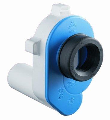 Urinal-Absaugsifon Zulauf DN50 / Abgang DN50 - waagrecht