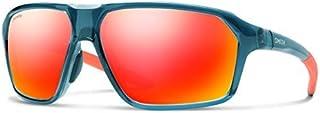 نظارات شمسية لممر سميث أوبتيكس، نظام تشغيل أوس، كريستال البحر المتوسط/الكروم الأحمر مرآة