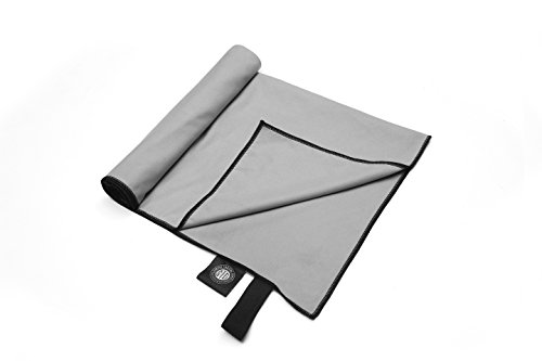 Simple Travel Gear Microfiber Travel Towel by Lightweight, Compact, Quick Drying