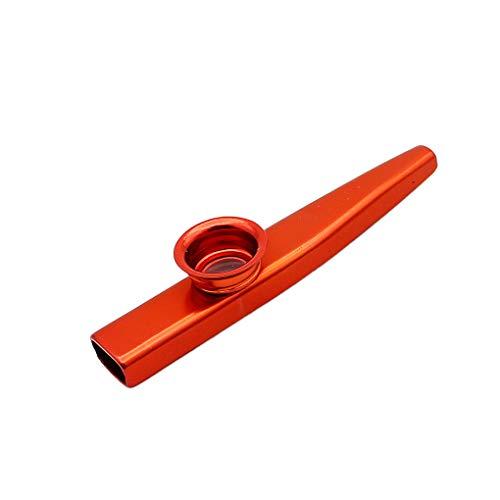 rongweiwang Strumento Regalo Lega di Alluminio Metallo Kazoo Membrana Bocca Flauto Partito Kazoo Regalo Strumento Armonica per Bambini Chitarra Amanti della Musica del Partito