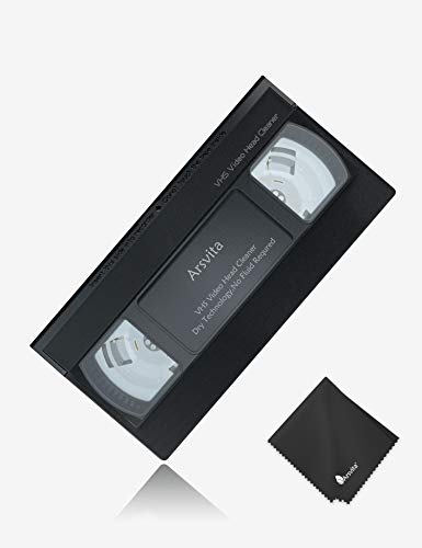 Arsvita VHS Video Head Cleaner for VHS Players
