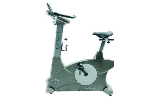 U.N.O. Fitness Fitnessbike EB4.0, Champagner Grau, 12028