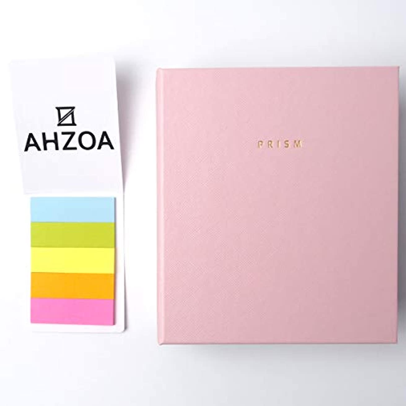 Prism Mini Polaroid Album with AHZOA 5 Colors Sticky Flags (Pink)