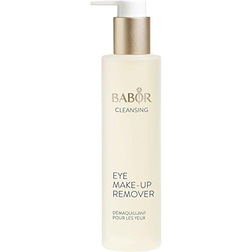 BABOR CLEANSING Eye Make up Remover, milder, ölfreier Augen Make-up Entferner, auch für wasserfestes Make-up geeignet, für empfindliche Haut, 1x100ml