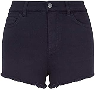 Armani Exchange A|X Women's Solid Color Dyed Stretch Denim Short
