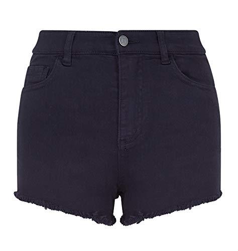 Armani Exchange 8,6 Ounces Stretch Bull Pantalones Cortos, Azul (Navy 1510), 40 (Talla del Fabricante: 25) para Mujer