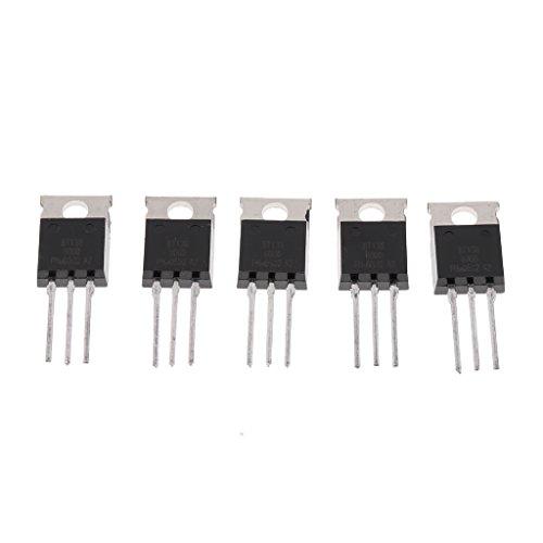 5 Stück Bt136 600v Transistor Triac 600v 4a Bis-220 Bt136-600