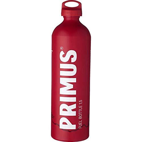 Primus - Botella de combustible con tapa a prueba de niños, color rojo, tamaño 1.5 L, 3.5 x 3.5 x 12.2inches