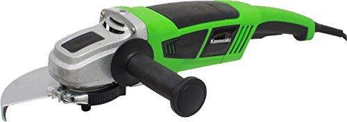 Kawasaki Winkelschleifer K-AG 2300, 2300 Watt, 6300 U/min - 3-fach verstellbarer Griff, mit Softstart - 603010201