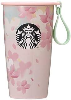 スターバックス SAKURA 2020 ストラップカップシェイプボトル 355ml 桜 保温保冷 ステンレスカップ ストラップ