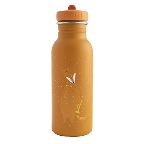 Trixie Kindertrinklasche Edelstahltrinkflasche Trinkflasche aus Edelstahl (Fuchs, 500 ml)
