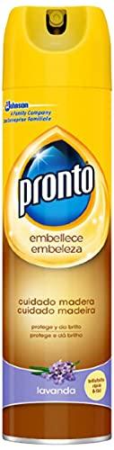 Spray Limpiador de Madera Lavanda, 300 ml