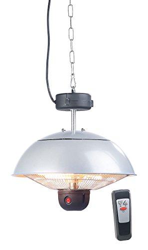 Semptec Quarz-Heizstrahler: Infrarot-Decken-Heizstrahler m. Fernbed, 800-2.000 Watt, LED, IPX4 (Infrarot-Außen-Heizstrahler)