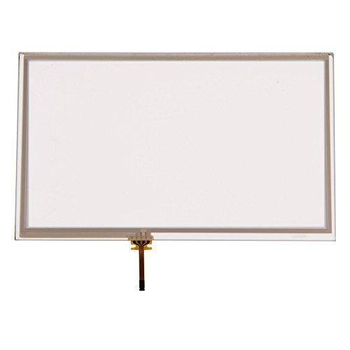 Zerone Pantalla táctil para Wii U, Pantalla táctil digitalizador Glass Panel para Nintendo Wii U Gamepad Controlador