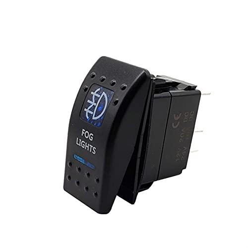 Hardware de mejoras para el hogar Interruptor de luz de coche para camión Caravana Motocycle Boat impermeable Dual LED LED Barra de la barra de la barra del automóvil en el interruptor de balancín de