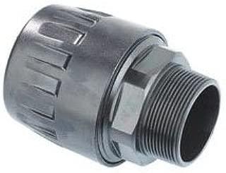 Parker 6605 25 22 1//2 NPT Brass Threaded Tubing Adapter