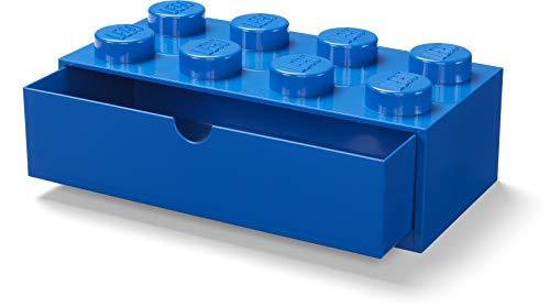 Room Copenhagen, Lego Desk Drawer - Stackable Tabletop Storage - Brick 8, Bright Blue (40211731)