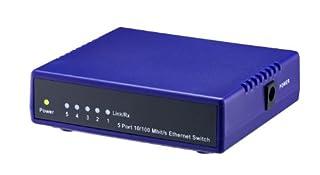 LogiLink Fast Ethernet Desktop Switch 5-Port (B0017PMQTA)   Amazon price tracker / tracking, Amazon price history charts, Amazon price watches, Amazon price drop alerts