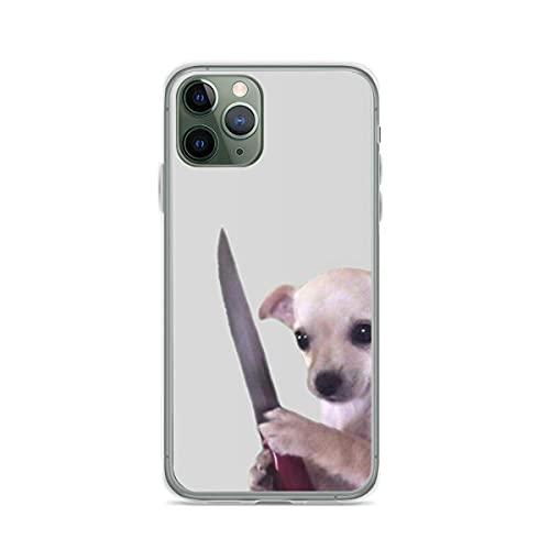 Vicious Doggo Pure Clear Cajas del Teléfono Cover iPhone 12/11 Pro MAX 12 Mini SE X/XS MAX XR 8 7 6 6s Plus Funda