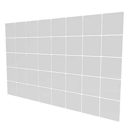 Divisores De Ambiente de 40 Piezas - 147x235.5cm - Blanco Biombo Separador Ambientes Patrón Geométrico Biombos Decorativos Paneles para La Decoración De La Pared del Jardín del Banquete De Boda