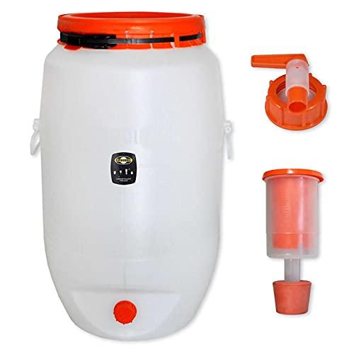 Barrel for fermentation SPEIDEL - Fermenter 120 L round + 1 airlock + 1 tap (22150+137+139) by Speidel