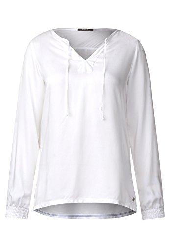 Cecil Damen 340810 Bluse, White, Medium