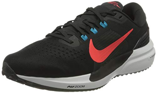 Nike Air Zoom Vomero 15, Scarpe da Corsa Uomo, off Noir/BRT Crimson-lt Blue Fury-Particle Grey-White, 46 EU