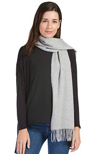 Soft cashmere scarf for your spouse - wool 7th anniversary gifts