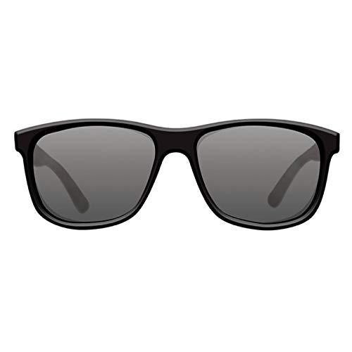 KORDA Klassische Brille mit Muschel-Motiv, Schwarz