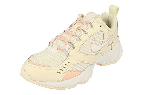 Nike Air Heights, scarpe da trail running da donna, colore bianco, 4 UK (37,5 EU), Bianco (Avorio Pallido Lavato Corallo 107), 38.5 EU