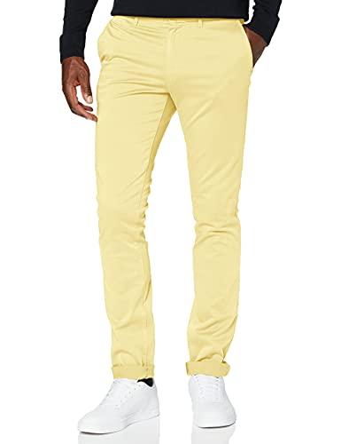 Pantalón Tommy Hilfiger Slim amarillo para hombre