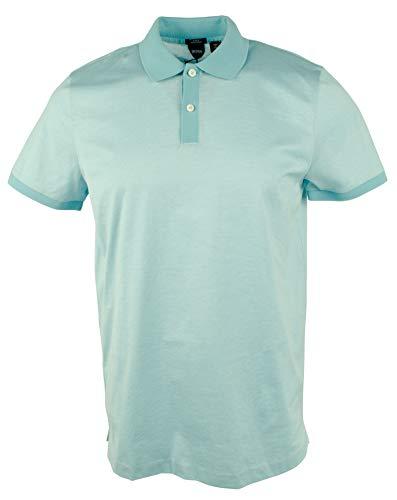 Hugo Boss Men's Slim-fit Striped Polo Shirt-PB-XL Pastel Blue