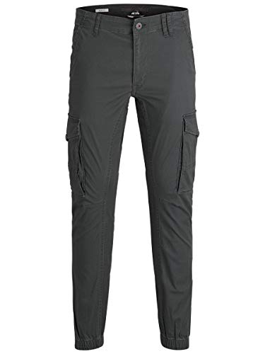 JACK & JONES Herren Cargohose Paul Flake AKM 542 3130Asphalt