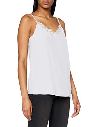ESPRIT Collection 080EO1F316 Bluse Damen, Weiß (110/OFF WHITE), 38