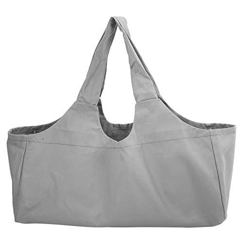 Salaty Yoga Bag, Luggage Bag, Canvas Universal Durable Lightweight for Packing Storage(gray)