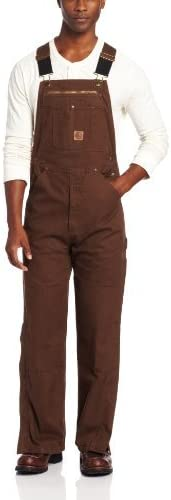 Berne Men's Big Tall Acre Duck Manufacturer OFFicial shop Unlined Overall Washed Courier shipping free Bib
