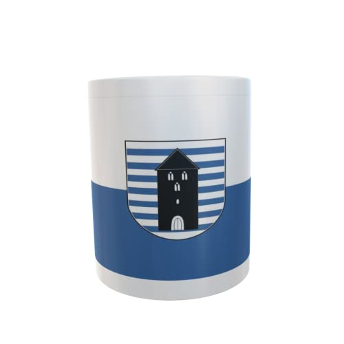 U24 Tasse Kaffeebecher Mug Cup Flagge Recke (Westfalen)