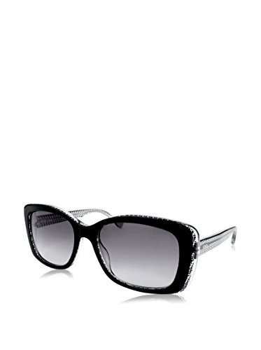 FENDI Gafas de Sol 0002/S 6ZV/EU (53 mm) Negro