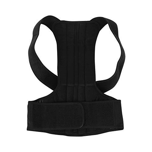 BLLBOO Verstellbare Rückseite Haltungskorrektor Brace Zurück Schulterstütze Gürtelhaltung unterstützt Korrektur