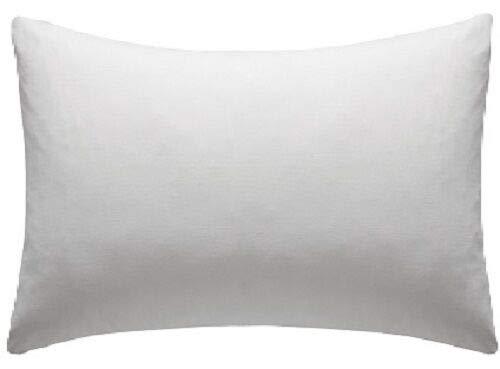 SHL Fundas de almohada de polialgodón de fácil cuidado, paquete de 2 (estándar de 20 pulgadas x 30 pulgadas)